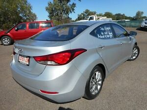 2014 Hyundai Elantra MD3 Trophy Sleek Silver 6 Speed Sports Automatic Sedan Winnellie Darwin City Preview