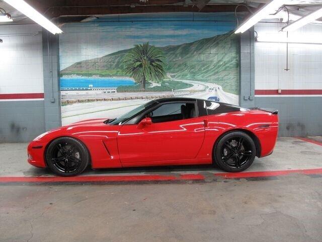 2008 Red Chevrolet Corvette   | C6 Corvette Photo 1