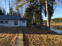 River front cottage in Blackville on the SW Miramichi River