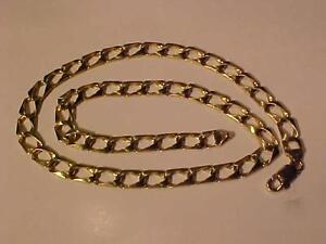 "#3135-10K Y/Gold -20"" REV. MAN`s CHAIN-LOBSTER CLAW CLOSURE-WILL ACCEPT EBANK TRANSFER-SHIP only IN CANADA-LAYAWAY AVAIL"