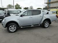 2014 MITSUBISHI L200 DI-D 4X4 BARBARIAN AUTOMATIC DOUBLE CAB PICK-UP IN SILVER W