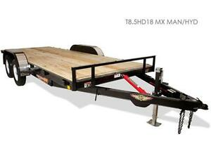 H&H MX Speed Loader Tilt Bed Trailer