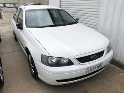 2006 Ford Falcon BF MkII XT (LPG) White 4 Speed Auto Seq Sportshift Sedan Hoppers Crossing Wyndham Area Preview