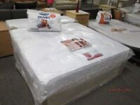 ****BRAND NEW FACTORY WRAPPED******KINGSIZE/5 feet wide/ Bed Base & THICK COMFY ORTHOPAEDIC SPRING M