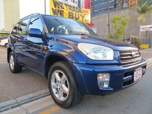 2002 Toyota RAV4 ACA21R Cruiser (4x4) Blue 4 Speed Automatic 4x4 Wagon Southport Gold Coast City Preview