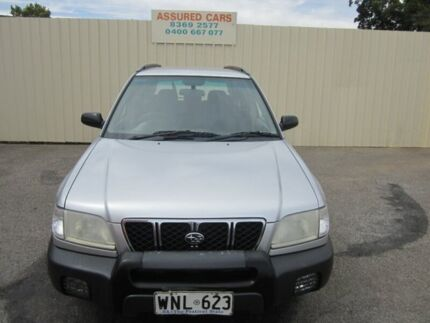 2001 Subaru Forester MY01 Silver 5 Speed Manual Wagon Windsor Gardens Port Adelaide Area Preview