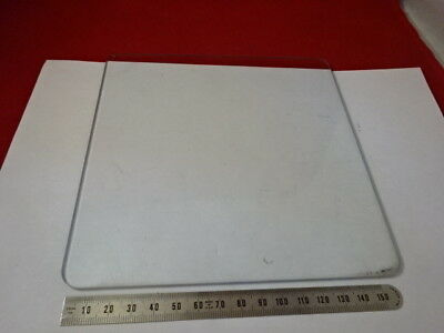 Glass Plate Stage Specimen Table Leitz Germany Microscope Part As Is 99-31