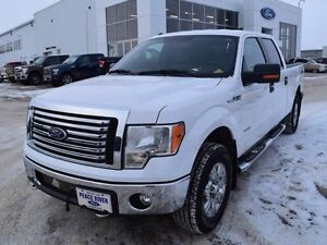 2012 Ford F-150 XLT 4x4 SuperCrew Cab 6.5 ft. box 157 in. WB