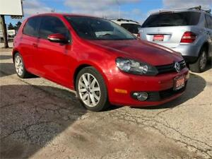2010 Volkswagen Golf Sportline, New Tires, Certified, Warranty
