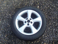 jaguar s tyre alloy wheels (tyres not included)