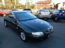 2000 Holden Commodore Vtii Olympic Edition Green 4 Speed Automatic Sedan Waratah Newcastle Area Preview