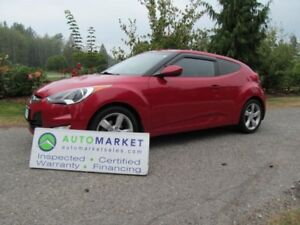 2013 Hyundai Veloster 6sp, iNSPECTED, FREE WARRANTY GREAT FINANC