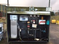 Bunded 26294litre fuel tank 3 tanks (2 Fuel 1 Lube oil) Pumps for dispensing fuel £1000.00