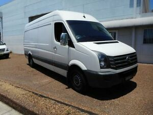 2012 Volkswagen Crafter 2EH1 MY12 35 TDI 330 LWB White 6 Speed Automatic Van Maryville Newcastle Area Preview