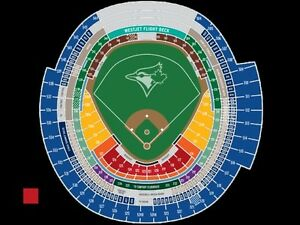JAYS TICKETS - Both days April 29th & 30th vs Tampa Bay Rays