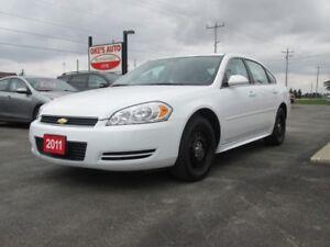 2011 Chevrolet Impala Police Cruiser