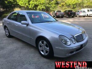2004 Mercedes-Benz E320 211 Elegance Silver 5 Speed Auto Touchshift Sedan Lisarow Gosford Area Preview