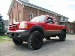 2007 Ford Ranger FX4/Off-Rd - LIFTED+BLACK WHEELS+4X4