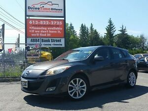 2011 Mazda MAZDA3 GT HATCHBACK with LEATHER & MOONROOF & AUTOMAT