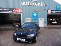 BMW 1 SERIES 2.0 116D SPORT 3d 114 BHP DIESEL (black) 2010