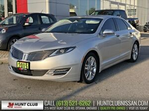 2015 Lincoln MKZ Navi | Sunroof | Htd & Cooled Leather Seats
