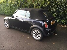 Mini cooper convertible - Light bodywork damage