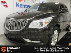 2014 Buick Enclave AWD Enclave with heated tan leather seats, re