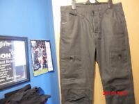 Mens NEW Jeans Size 32 w long leg in black