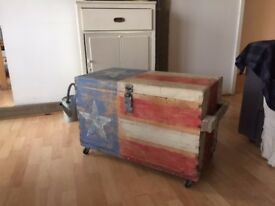 Vintage USA Storage Trunk