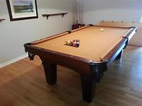 Dining Room Table and Billiard (Pool) Table