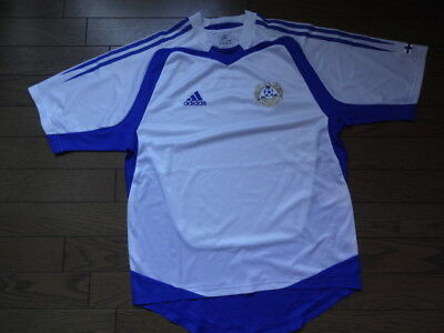 Finland 100% Original Soccer Football Jersey S 2004/05 Home Good Condition [284] image