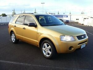 2005 Ford Territory SX TS WAGON 5DR SA 4SP AWD 4.0I Gold Semi Auto Wagon South Burnie Burnie Area Preview