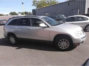 2007 CHRYSLER PACIFICA TOURING  4X4, CUIR, TOIT, DVD, 7 PASS