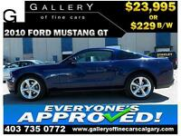 2010 Ford Mustang GT $229 bi-weekly APPLY NOW DRIVE NOW