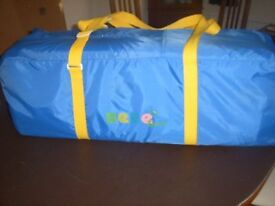 Baby travel cot/playpen by Bebe
