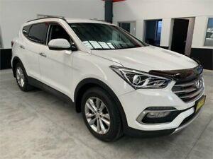 2016 Hyundai Santa Fe DM3 MY17 Elite White Sports Automatic Wagon Boolaroo Lake Macquarie Area Preview