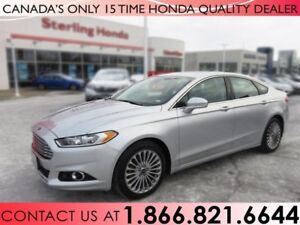 2016 Ford Fusion TITANIUM | AWD | LEATHER | NAVIGATION | 1 OWNER