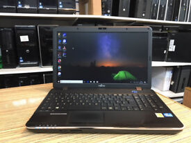 Fujitsu LIFEBOOK A512 Core i3-3110M 2.40GHz 4GB Ram 320GB HDD Win 10 Laptop