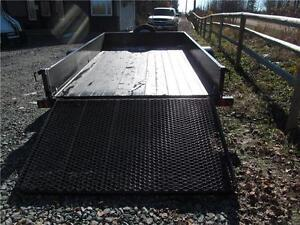 6.5' x 12' UTILITY WITH SOLID SIDES Prince George British Columbia image 3