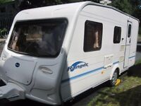 Bailey Ranger Four Berth Touring Caravan