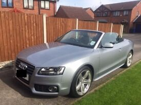 Audi A5 Cabriolet 2.0 TDI S Line