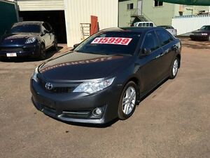 2012 Toyota Camry ASV50R Atara S Grey 6 Speed Automatic Sedan Holtze Litchfield Area Preview