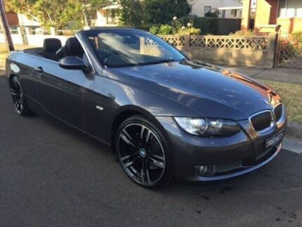 2007 BMW 335i E93 Grey 6 Speed Auto Sports Mode Convertible Five Dock Canada Bay Area Preview