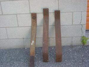 3 Antique tractor seat stands !