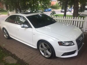 Audi S4, 2012 - Manual, Low KM - in Excellent Condiition