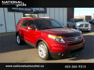 2015 Ford Explorer Limited |6 Seater|Heated&Cooled Leather|AWD