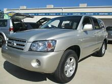 2003 Toyota Kluger MCU28R CV AWD Silver 5 Speed Automatic Wagon Greenslopes Brisbane South West Preview