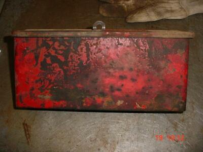 Original Ford 8n Tractor Tool Box For Wrenches 8n Ford