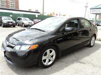 2008 Honda Civic Sdn LX Certified and e-test, Clean carproof
