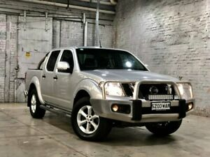 2013 Nissan Navara D40 S6 MY12 ST Silver 5 Speed Sports Automatic Utility Mile End South West Torrens Area Preview